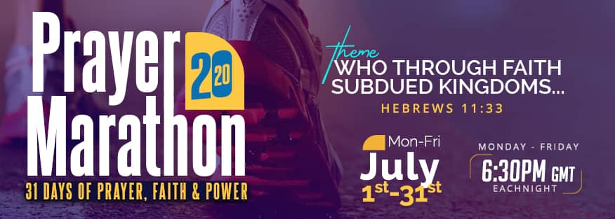 prayer marathon 2020